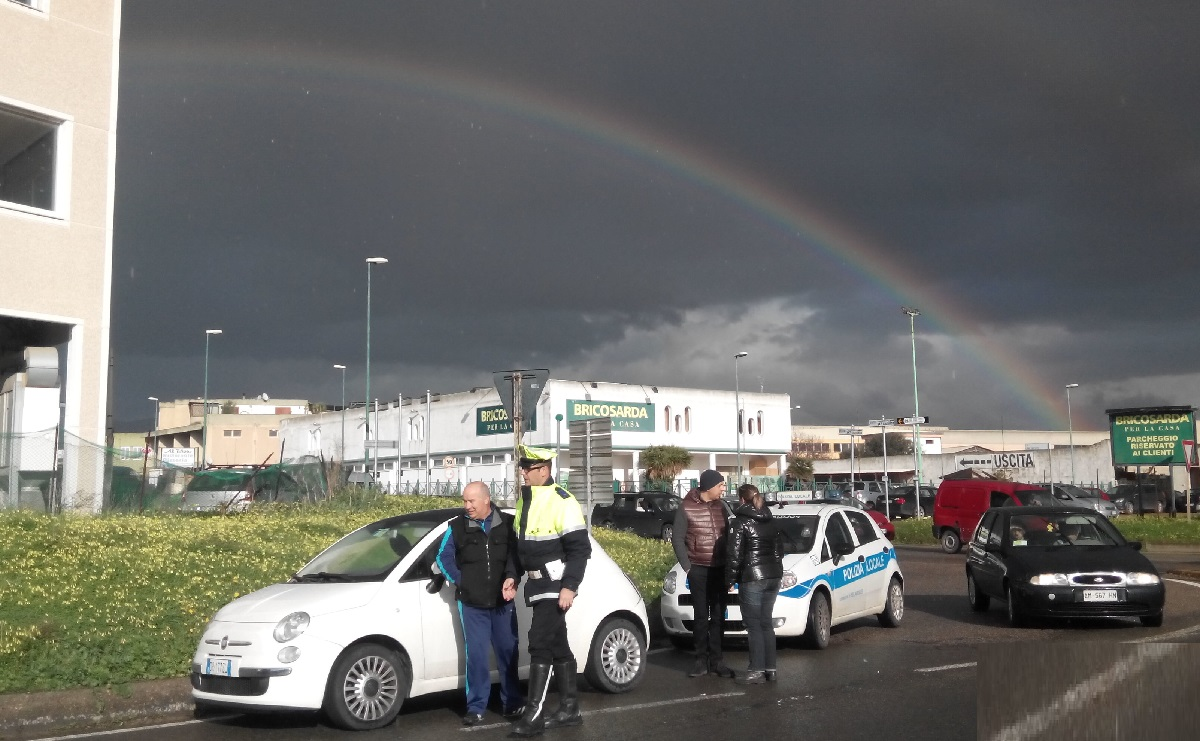 554, Incidente con l'arcobaleno (foto)